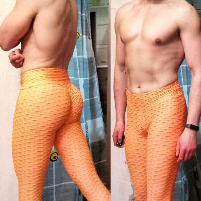 Men's Compression Pants Training Fitness Sports Leggings Jog