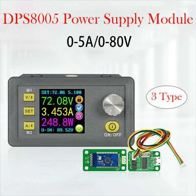 80v5a Programmable Constant Voltage Current Step-down Power Supply Module New