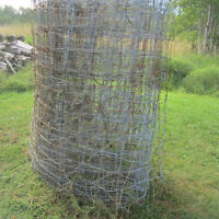 PAGE WIRE FENCE FENCING 6' HIGH ONE LARE ROLL