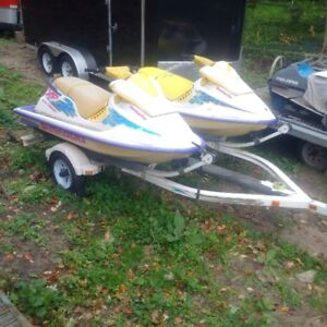 2 x 1995 Sea Doo XP's w/trailer - motivated seller