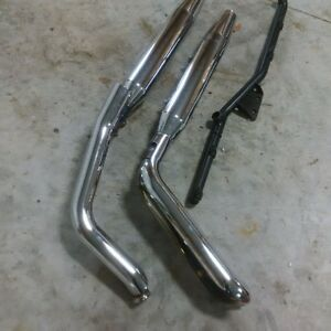 Heritage Softail pipes