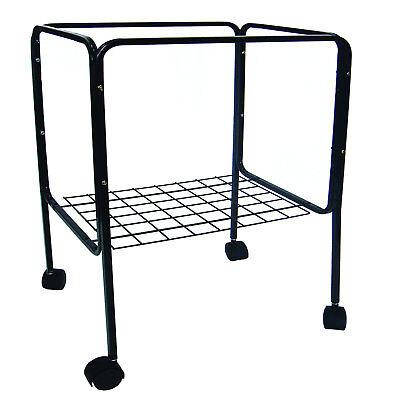 "YML Black Bird Cage Stand, 14"" L X 18"" W X 28.5"" H"