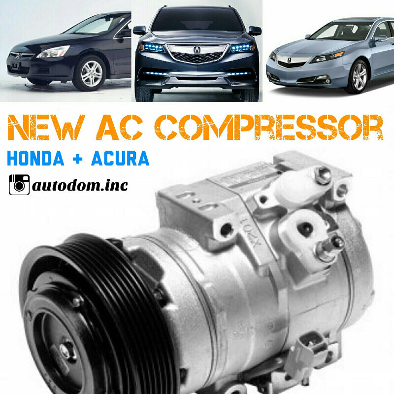 New AC Compressor Accord, 3.2TL, 3.5TL, MDX 2003-13
