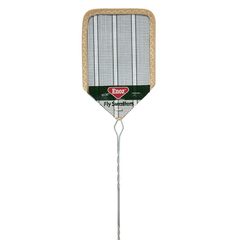 Enoz R38.24 Assorted Aluminum Fly Swatter for Kills Insects (Pack of 24)
