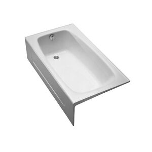 TOTO FBY1525RP01 Enameled Cast Iron Bathtub Right Hand Drain