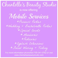 Mobile Certified Esthetician & Eyelash Technician