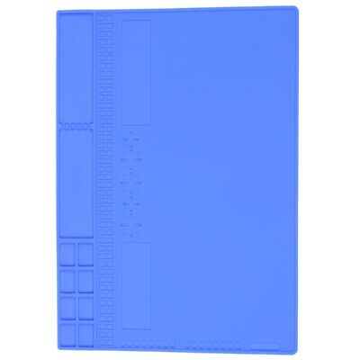 Heat-resistant Insulation Silicone Soldering Pad Desk Mat Maintenance Platf O9a7