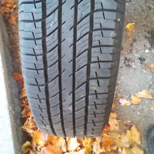 Pair All Season Tires, almost brand new