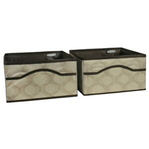 Rubbermaid Canvas Storage Bins 2 Pack