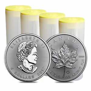 2017 Silver Maple Leaf Coins - Authorized RCM Bullion DNA Dealer Cornwall Ontario image 2
