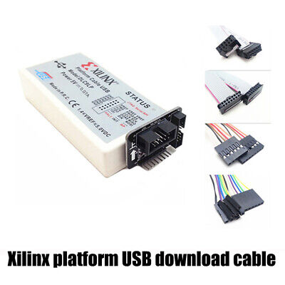 Xilinx Platform Usb Jtag Download Cable Programmer For Fpga Cpld Xc2c256 Xl003