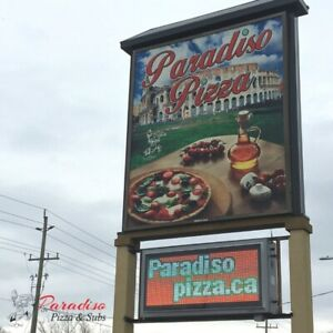 Paradiso Pizza Now Hiring