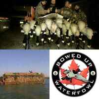 Guided duck and goose hunts