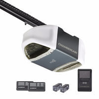 Garage door opener installation by experienced techs