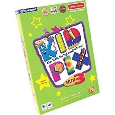 MacKiev Kid Pix 3d Deluxe 3x Software