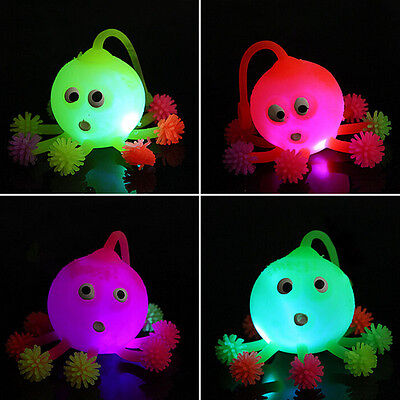 1 X Led Octopus Ball Color Random Cartoon Animal Inflatable Toys Random Jb