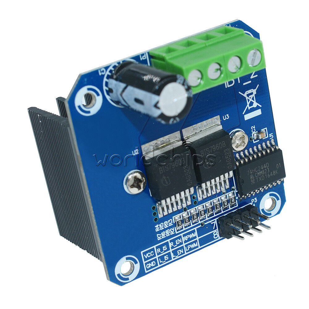 Arduino Modules - L298N Dual H-Bridge Motor Controller: 4 ...