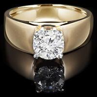 Perfect Diamond Engagement Ring 1.25CT Bague de Fiançailles