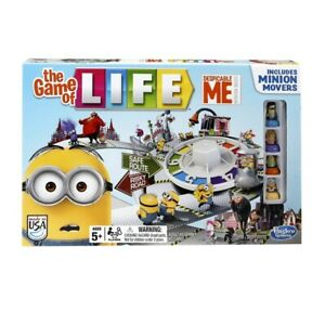 Despicable Me Minion The Game of Life Game, English