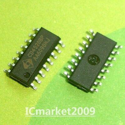 10 Pcs Cd4511m Sop-16 Cd4511 Bcd To 7-segment Latchdecoderdriver New