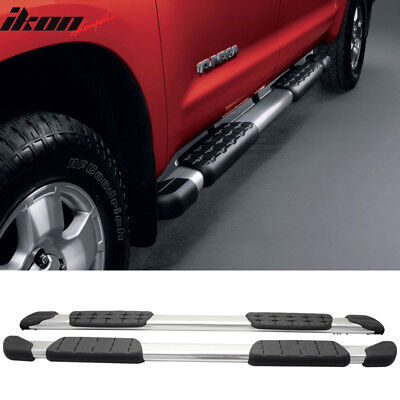 Fits 07-19 Toyota Tundra Crewmax Cab 5 In Aluminum Side Step Bar Running -