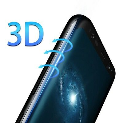 Samsung Galaxy S6 S7 S8 Edge PLUS Screen Protector Tempered Glass Curved Shield