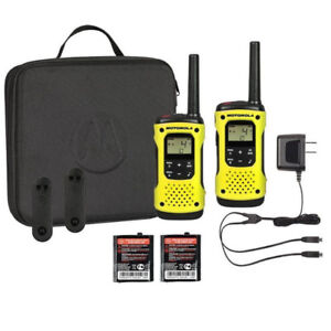 Motorola T631 Talkabout Radio, 2 Pack(Campaign, Hunting)