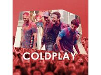 COLDPLAY - PITCH STANDING + LEVEL 1 UNRESERVED SEAT - PRINCIPALITY STADIUM - WEDS 12/07 - £150!