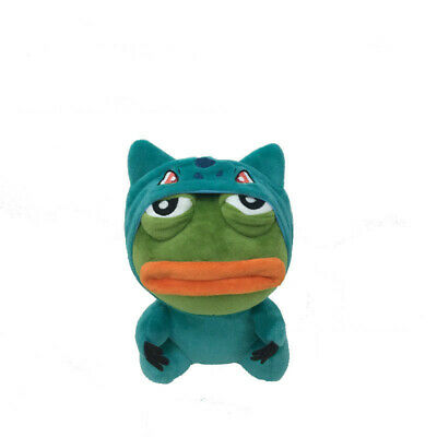 23cm Pepe The Frog Sad Frog Plush Doll Stuffed Toy