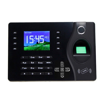Tcpip Fingerprint Recorder Employee Time Attendance System With Free Software
