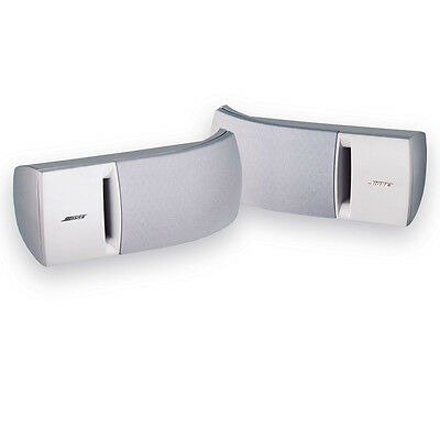 Bose 161 Speaker System - White. Includes Brackets for wall