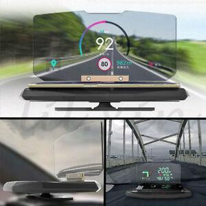 Universal Car GPS Navigation Through Projection HUD Head Up Display Phone Holder