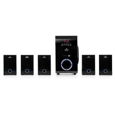 [B-WARE] 5.1 AKTIV FUNK LAUTSPRECHER BOX SET HEIMKINO SYSTEM USB SD MP3 PLAYER
