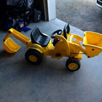 Peg -Perego ride on  digger