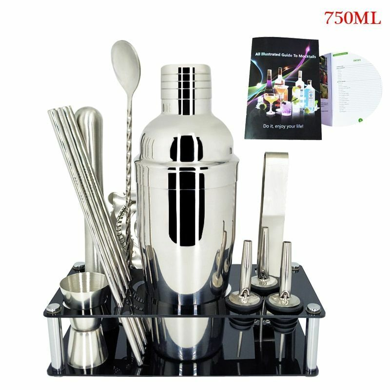 Professional Stainless Steel Cocktail Strainer Bar Wine Shaker Percolator Ware