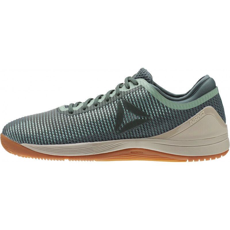 5f70d055b6c0 Details about Mens Reebok Crossfit Nano 8 Flexweave Mens Training Shoes -  Green