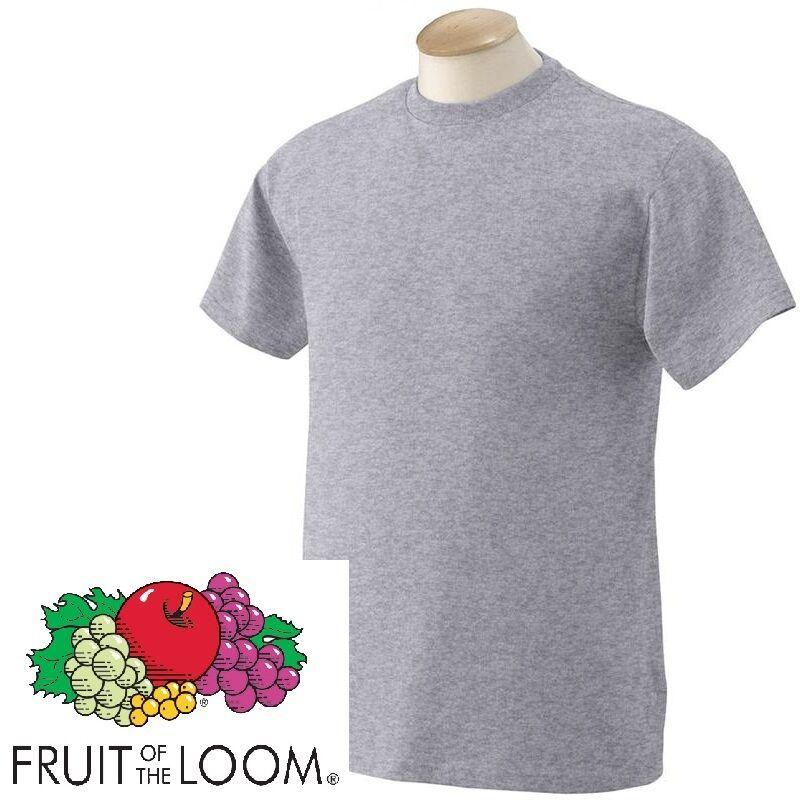 Fruit of The Loom Kids Boys Girls Childrens School Plain T Tee Shirt  SS28B