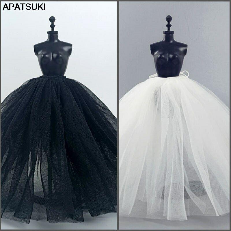 "Fashion Petticoat For 11.5"" 1/6 Doll Slip Wedding Dress Underskirt Clothes DIY"