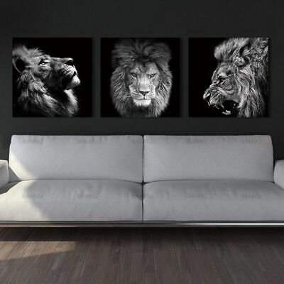 Animal lion art prints Wall Art Pictures Canvas Painting abstract canvas poster