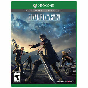 Final Fantasy 15 XV Day One Edition Sealed With Mini Guide