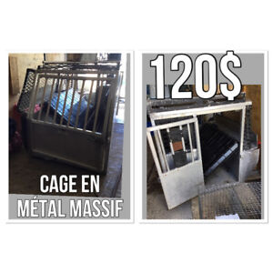 Cage animaux /contrôleur animalier/cage robuste
