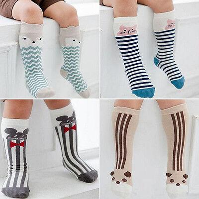 Cartoon Animal Baby Sock Boys Girls Knee High Socks Toddler Terry Sock 1 Pair](Toddler Boy Knee High Socks)