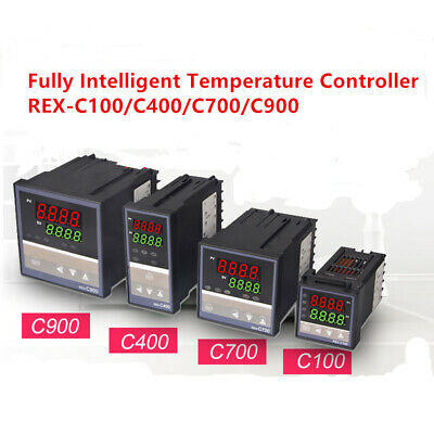 Rex-c100c400c700c900 Digital Alarm Pid Temperature Controller Ac110220v 1pc