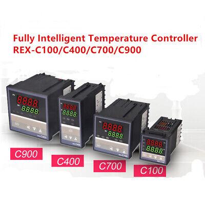 Rex-c100c400c700c900 Digital Alarm Pid Temperature Controller Ac110-240v 1pc