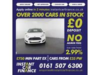 Ford Fiesta Zetec Hatchback 1.2 Manual Petrol FINANCE FROM £ 39 PW