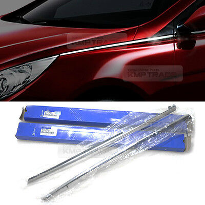 OEM Parts  Front Fender Chrome Molding Trim L+R for HYUNDAI 2011-2014 YF Sonata