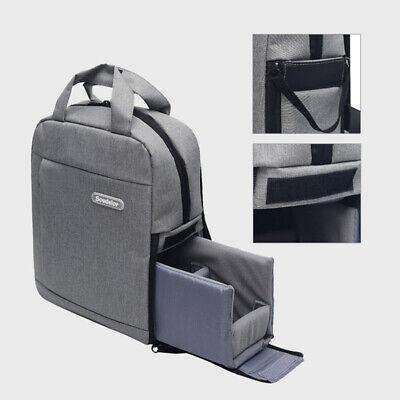DSLR Camera Bag Backpack Travel Bag Rucksack Insert For Canon Nikon Sony Lens