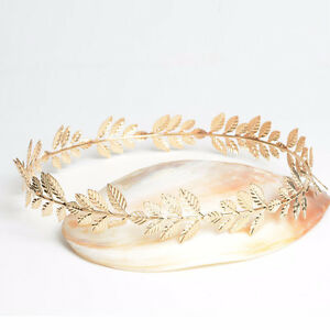 BRAND NEW Ventian Grecian Goddess Gold Leaf Tiara Kitchener / Waterloo Kitchener Area image 3