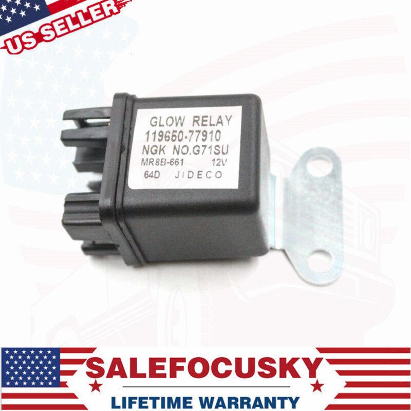 NEW 12V Glow Plug Relay For Yanmar, John Deere, Cub Cadet #119650-77910