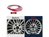 1set Car Wheel hub Cover Sticker Emblem Wheel Ring For BMW 1 X1 X3 X4 X5 X6